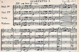 BeethovenStringQuartet